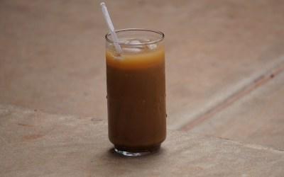 Disfruta de un buen café refrescante