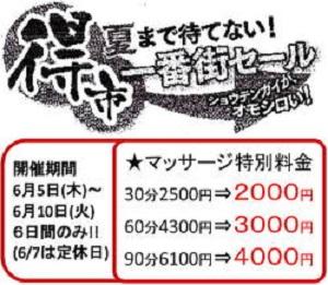 2014年6月藤井寺一番街商店街大売り出し