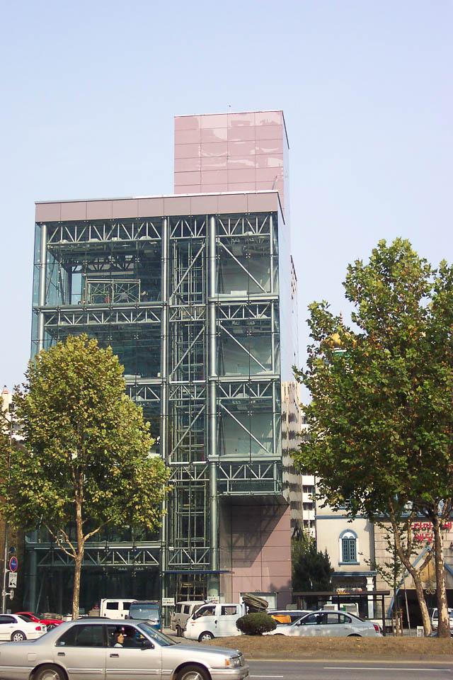 2004 Văn phòng Kiến trúc sư Phòng thí nghiệm Phong cách Ferrari Space 1: Kiến trúc sư Ahn Eung-jun