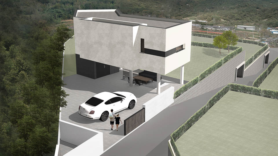 2015 Yellow Sea Gallery 7 Style Lab Kantor Arsitek Umum: Arsitek Ahn Eung-jun
