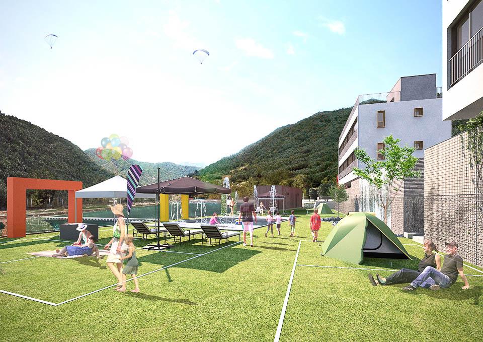 2016 Hongchung Poolgrida 2 스타일 랩 종합건축사사무소 : 건축사 안응준