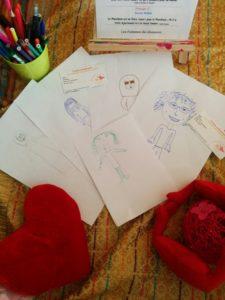 Caricatures réalisée par les filles