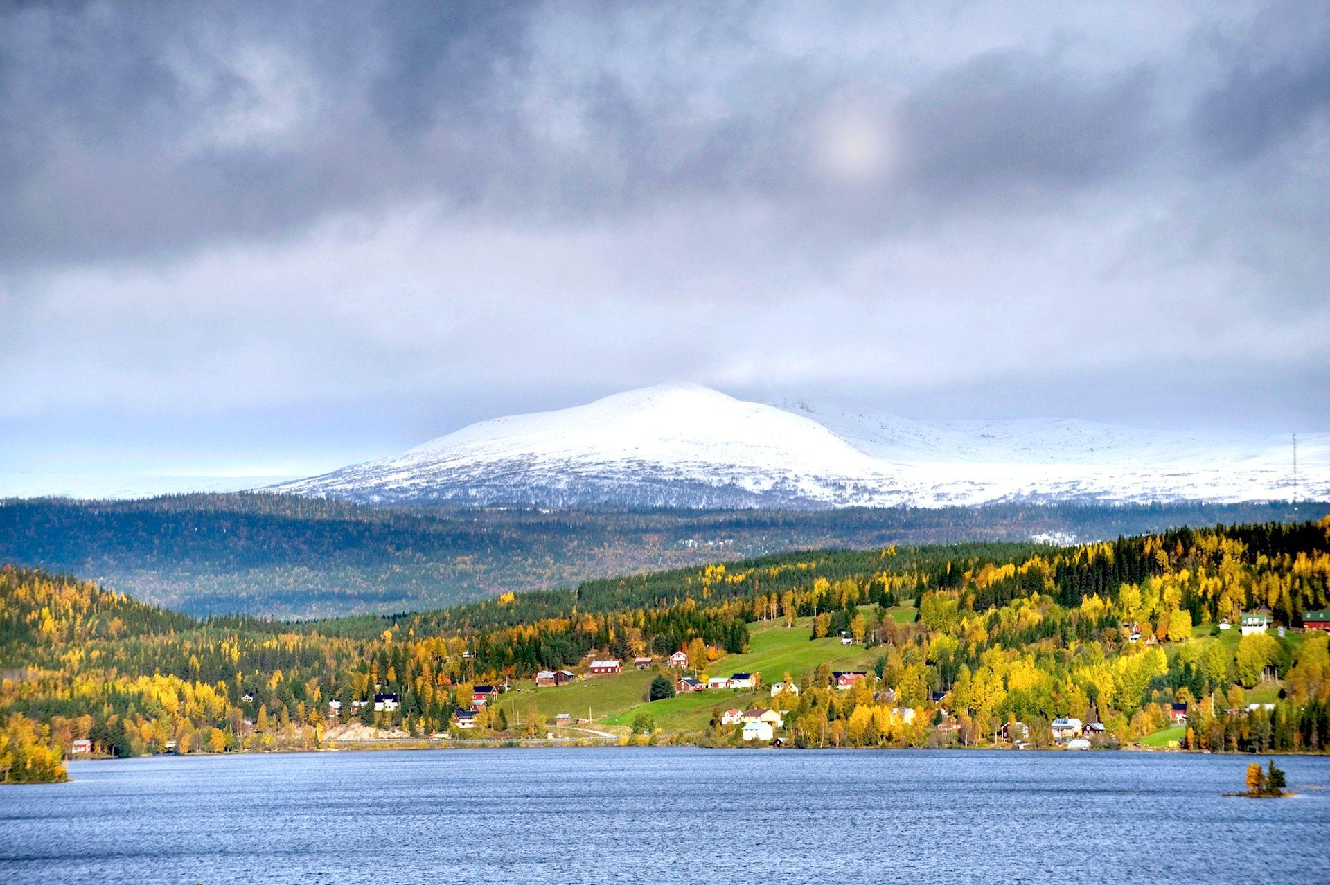 Höst i Valsjöbyn. Foto © Kristina Nordenmark