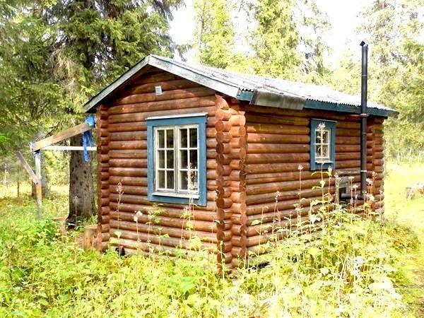 Ansättåns raststuga vid Ansättåleden. Foto © Ansättfjällen.