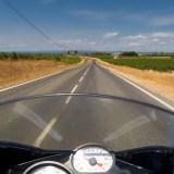 Mit dem Motorrad durch die Camargue