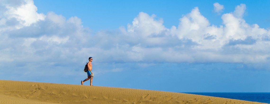 Die Dünen von Gran Canaria