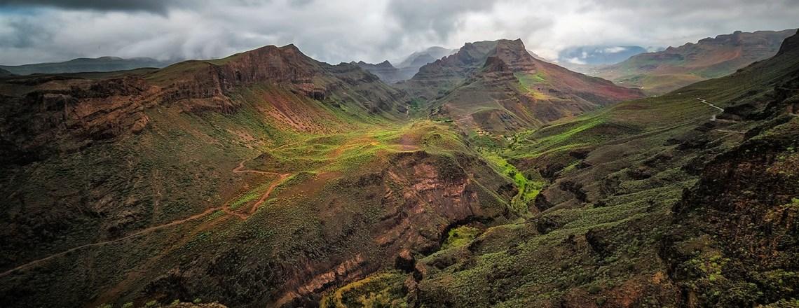 Regen und Sturm auf Gran Canaria