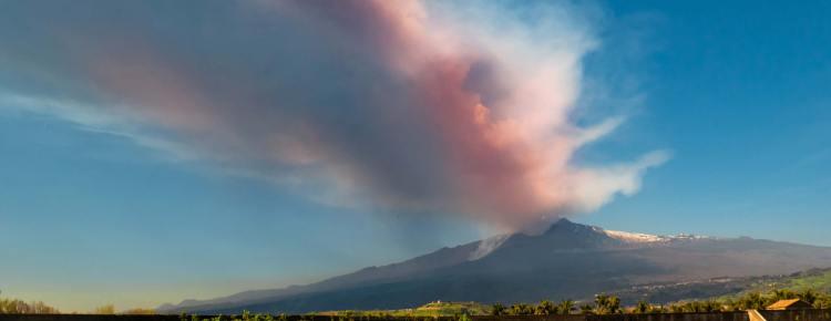 Etna Eruption 02.02.2021