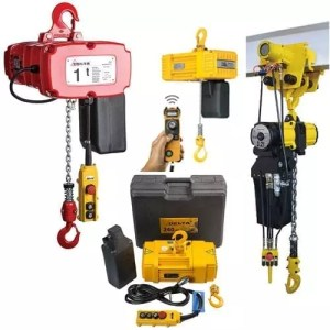 power-operated chain hoists