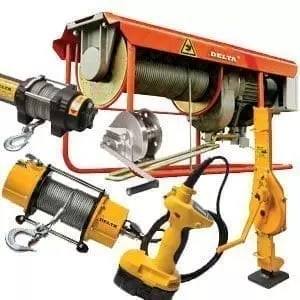 winches, lifting and pulling devices