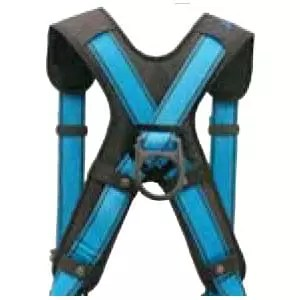 Comfort back padding X-Pad for safety harnesses