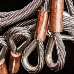 Edelstahlseile mit Kupferpressung
