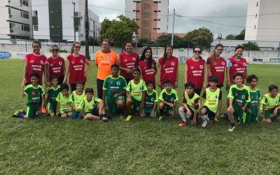 Evento em parceria com a Escolinha de Futebol