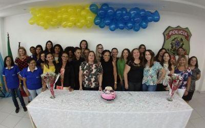 Comemoração do dia internacional da mulher