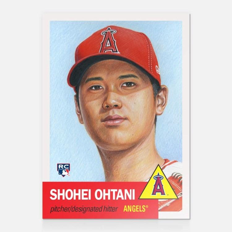 SHOHEI OHTANI TOPPS LIVING SET 2018 CARD 7 ANGELS JAPANESE ...
