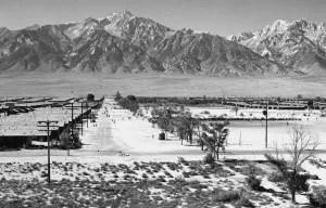 Manzanar from Guard Tower, 1943