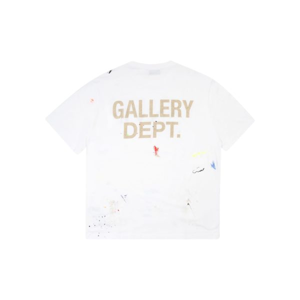 Gallery Dept x Lanvin Printed Paint T-Shirt White Front