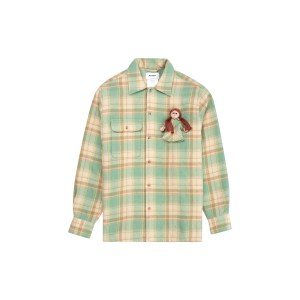 Doublet doll check shirt front
