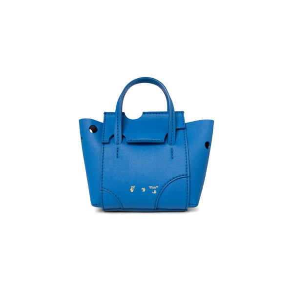 Off White burrow bag blue front