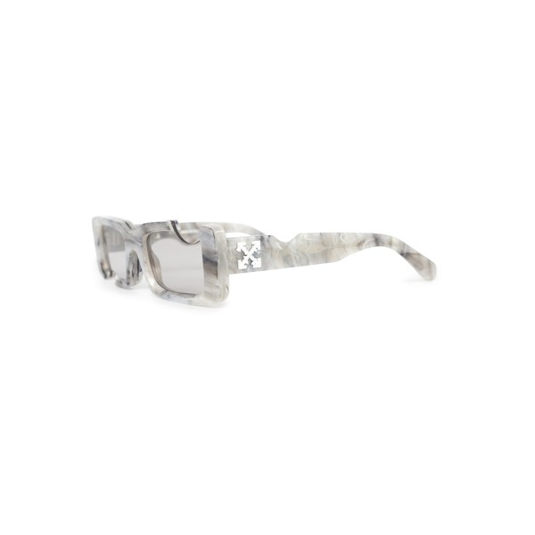 Off White cady sunglasses grey side