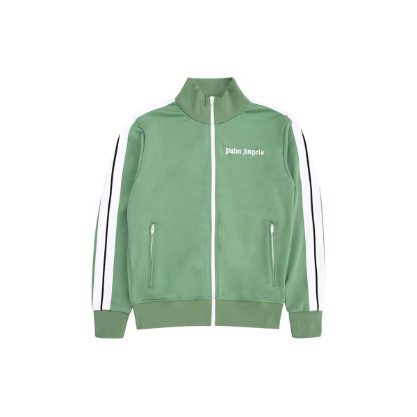 Palm Angels track jacket green front