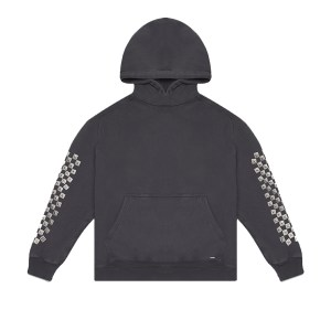 Flaneur Homme Checkered Hoodie