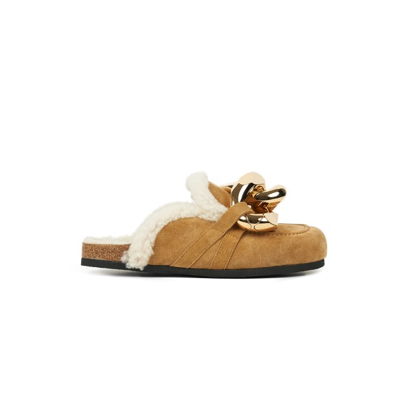 JW Anderson Shearling Chain Loafer