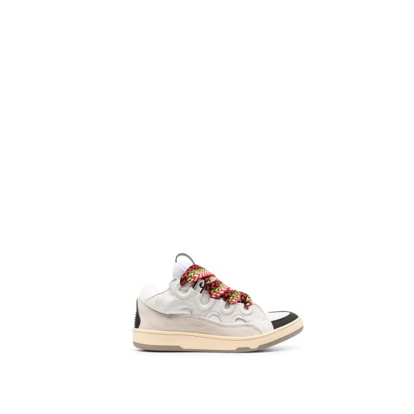 Lanvin Curb Sneakers White