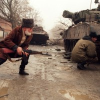 Video Lawas Mujahidin Chechnya Dalam Sebuah Pertempuran