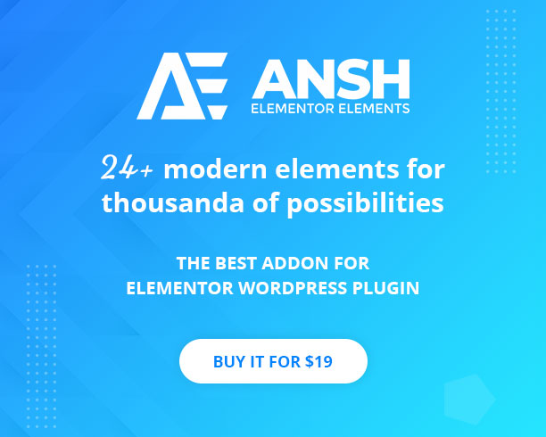 Ansh Elements For Elementor - 1