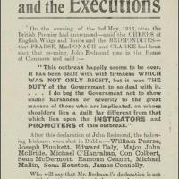 John Redmond And The Blood Sacrifice - For The British Empire