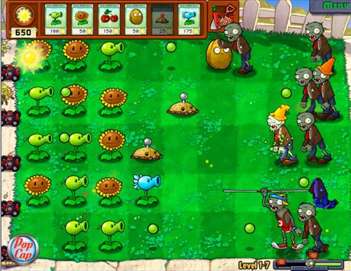 Plants vs. Zombies (3/6)