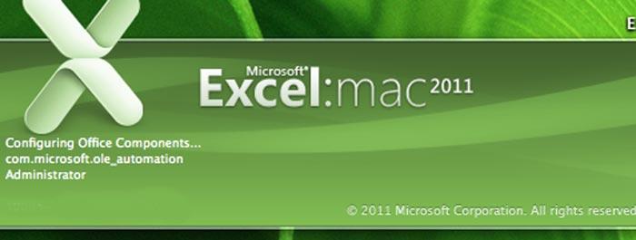 microsoft excel 2011 logo
