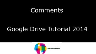 how to add comments in google do