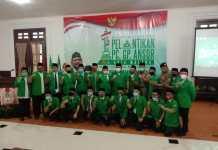 PC. GP Ansor Kota Malang, di Lantik di Tengah Pandemi dengan Protokol Kesehatan Ketat