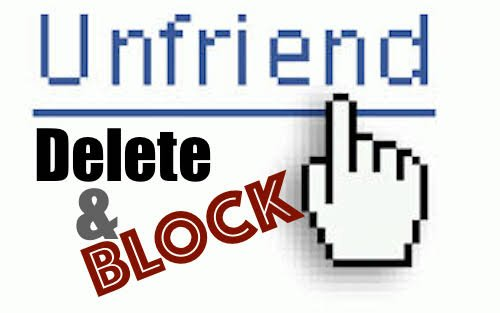 Image result for facebook unfriend pictures