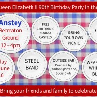 Anstey Picnic in the Park - June 12th