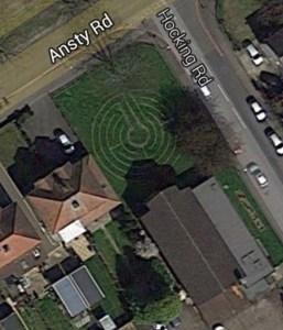 Labyrinth Google Maps