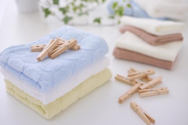 タオルを洗濯しても臭いが取れないときの対処方法!
