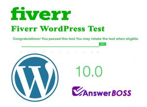 Fiverr WordPress Test