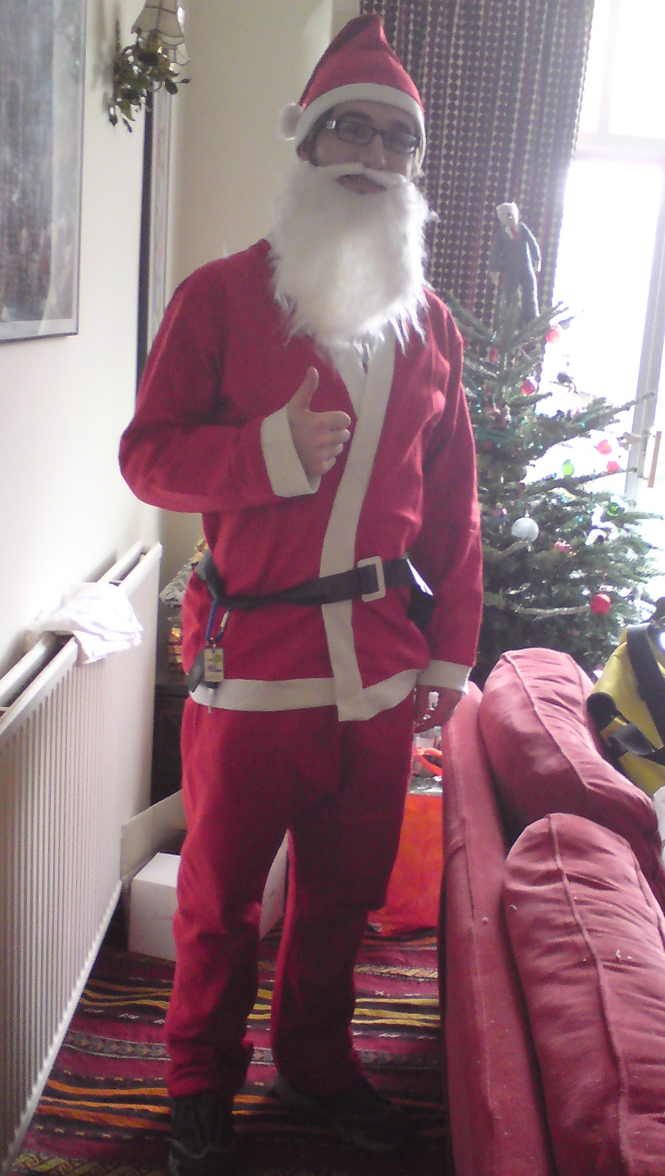 Santa the Sound Man