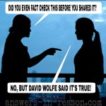 cofirmation bias conspiracy theorists fundamentalists and david wolfe