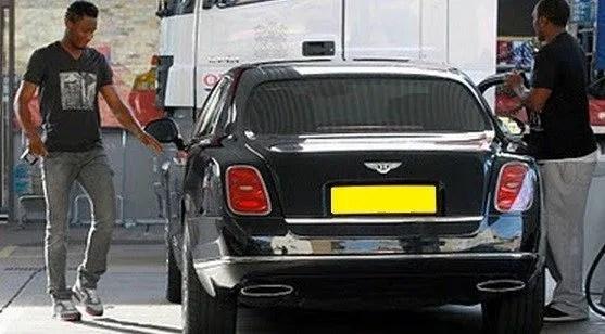 John-Obi-Mikel-Bentley-Car