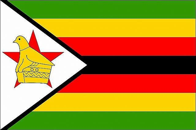 Flag of Zimbabwe - 10 Most Dangerous Countries in Africa