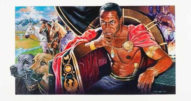 Tenkamenin -- King of Ghana