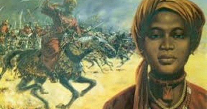 Amina--the Queen of Zaria - african queen