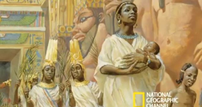 Candace--the empress of Ethiopia