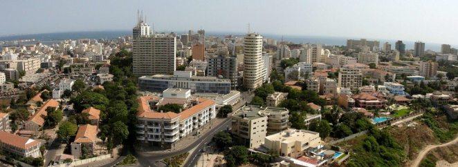 Dakar Aerial view