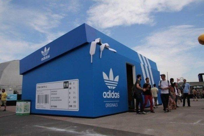 giant adidas shoe box