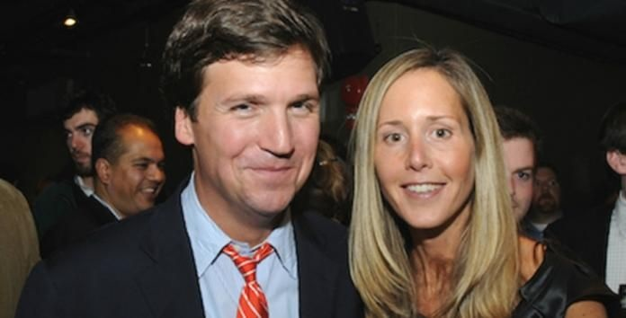 Tucker Carlson's Love Story With Wife Susan Andrews, their ...
